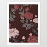 Big Roses for Mother's Day Art Print