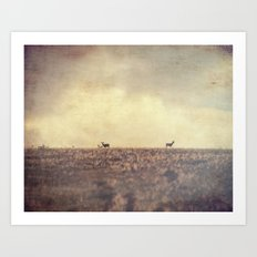 Being Watched Art Print