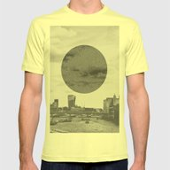 London Moon Mens Fitted Tee Lemon SMALL