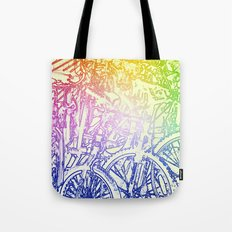 bike yard 2 Tote Bag