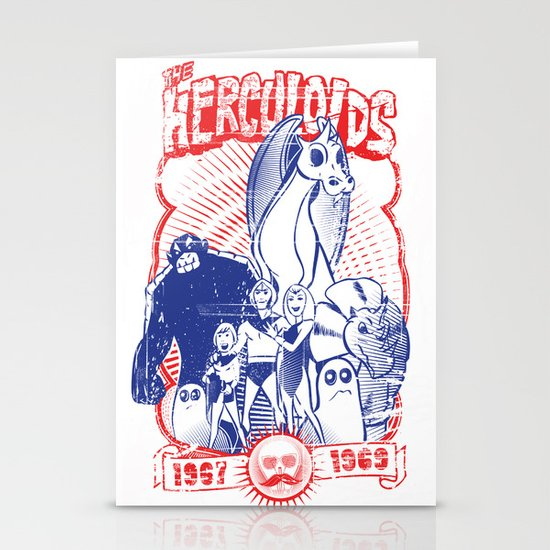 the herculoids Stationery Card