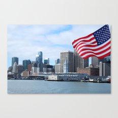 Port of San Francisco, California Canvas Print