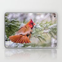 Christmas Cardinal. Laptop & iPad Skin