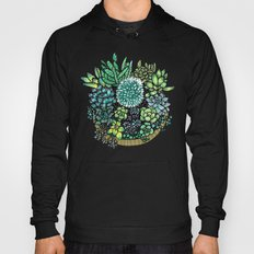 Golden Succulents and Sunshine Hoody