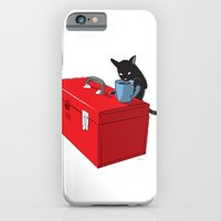 iPhone & iPod Case featuring Chat Beverage Tipper by Moats