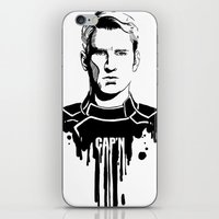 Avengers In Ink: Captain… iPhone & iPod Skin