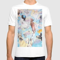 It's Raining! . . . . SMALL White Mens Fitted Tee