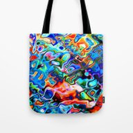 Pattern Sunnyday  Tote Bag
