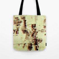 Illustration Mashup Tote Bag