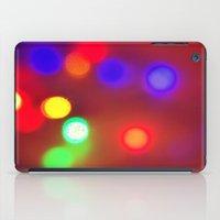 Colourful Lights iPad Case