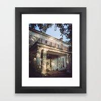 The House On Reese Road  Framed Art Print