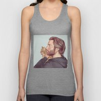 A Man and his Cat Unisex Tank Top
