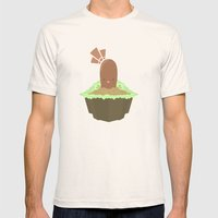 Diglett Mens Fitted Tee Natural SMALL
