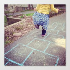 Hopscotch Canvas Print