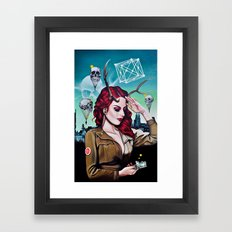 Miss B Haven Framed Art Print