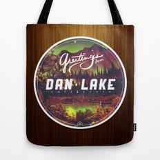 Greetings from Dan Lake CA Tote Bag