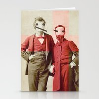 the backslash brothers Stationery Cards
