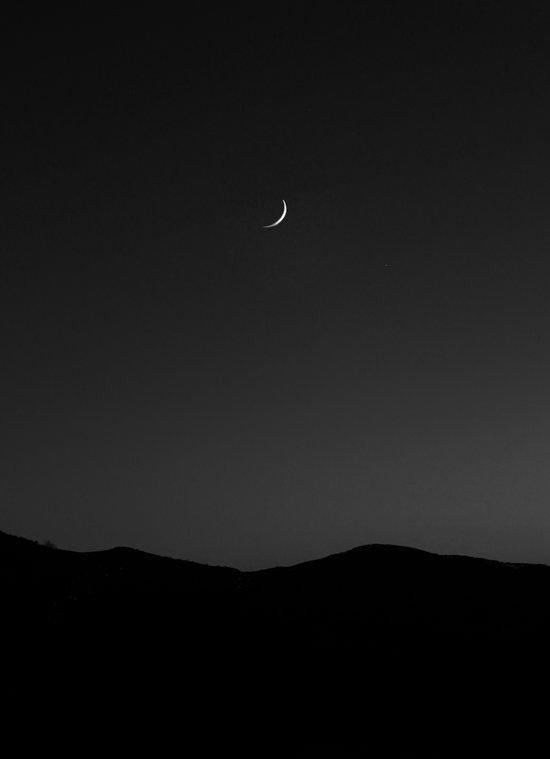Minimal Moon. Art Print