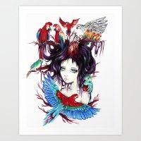 Exotic Art Print