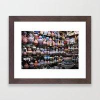 grand bazaar Framed Art Print