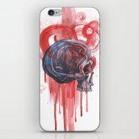 Bloody Skull iPhone & iPod Skin