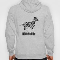 Dachshund in the snow Hoody