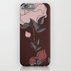 Big Rose Pattern  iPhone 6 Slim Case