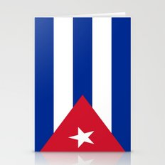 Flag of Cuba Stationery Cards