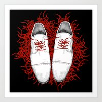 shoes Art Prints featuring Shoes by Tamar Kasparian