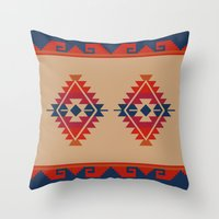 Daryl's Poncho Throw Pillow