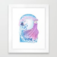 Last Unicorn Framed Art Print