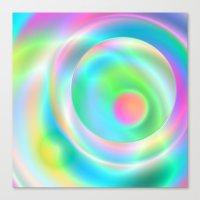 Color Spheres Canvas Print