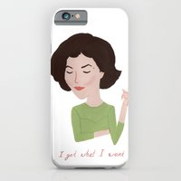 iPhone & iPod Case featuring Twin Peaks Audrey Horne by Maya Bee Illustrations