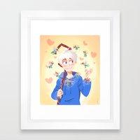 ROTG- Girls Framed Art Print