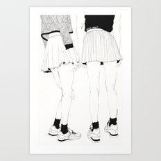 We Don't Talk About That Art Print