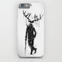 iPhone & iPod Case featuring A Fine Lunch Sketch by Justin Currie