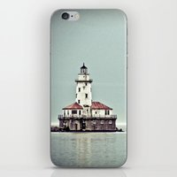 Chicago Harbor Lighthous… iPhone & iPod Skin
