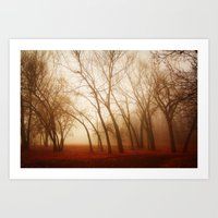 Red Earth Art Print