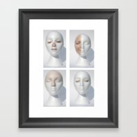 Maniface Framed Art Print