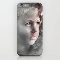 iPhone & iPod Case featuring Girl with Bow by Andre Villanueva