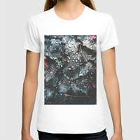 fresh morning Womens Fitted Tee White SMALL