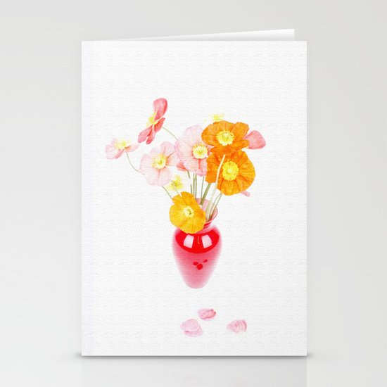 LITTLE FLOWERS Stationery Card