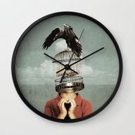 Wall Clock featuring Metaphorical Assistance by Seamless