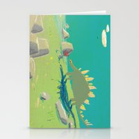 la rencontre Stationery Cards