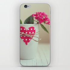 Cup full of love iPhone & iPod Skin