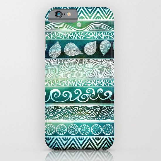 Dreamy Tribal Part VIII iPhone & iPod Case