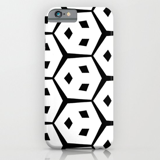 Van Trijp Black & White Pattern iPhone & iPod Case