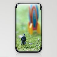 Rocket Man iPhone & iPod Skin
