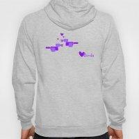 Love Birds-Purple Hoody