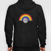Death Star Rainbow Hoody